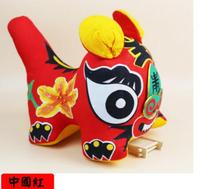 handicrafts traditional tiger pillow cushion stuffed toy