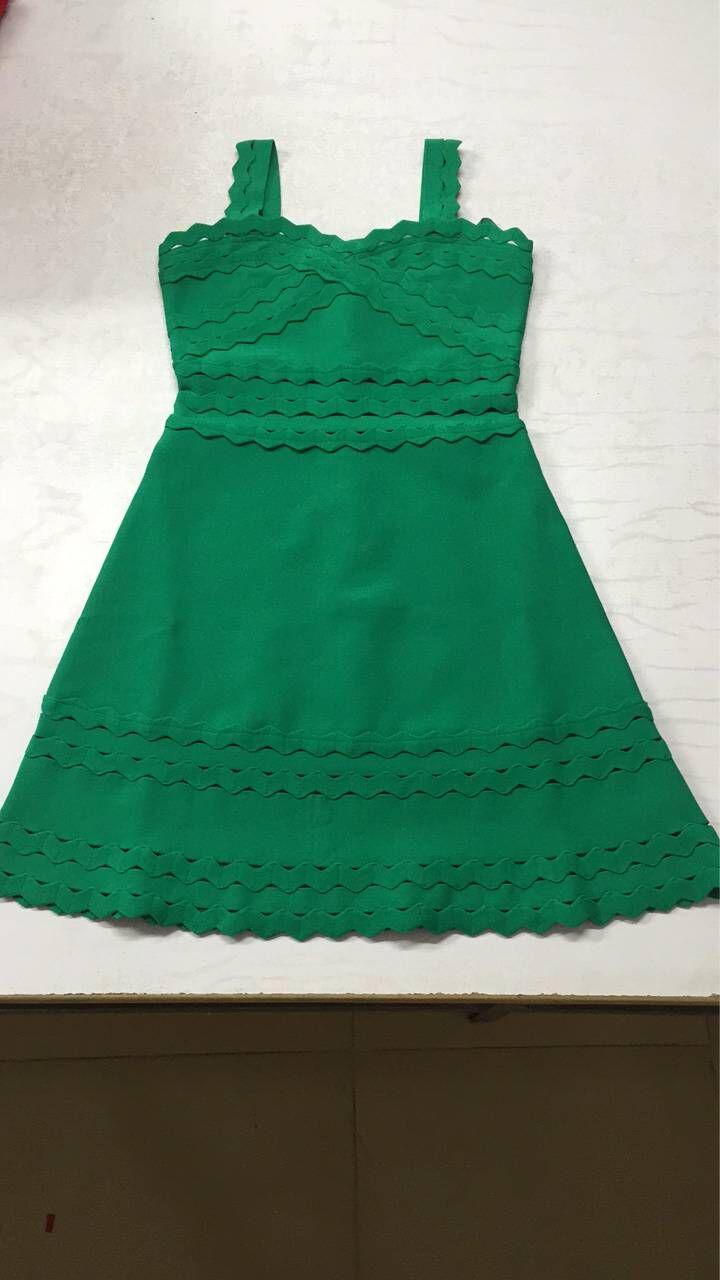 Vestito Vestiti Verde Verde Del Abiti Mini Sexy Elegante A Bianco 2018 Club Da Rosso Nuove rosso Fasciatura Abito Donne Partito Dalla Patchwork line qwxExtU81