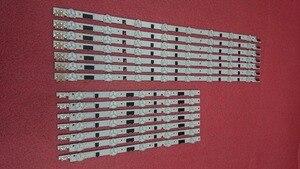جديد 5 مجموعة = 70 قطعة LED شريط إضاءة خلفي قطع غيار سامسونج UE40F6400AK D2GE-400SCA-R3 D2GE-400SCB-R3 2013SVS40F L 8 R 5