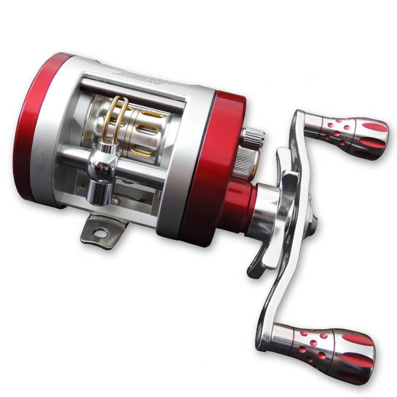 BC150-9BB Full Metal Boat Fishing Reel Left Or Right Handle Centrifugal Brake / Trolling Wheel / Drum Reel  Hot Sale trolling reel 9 1bb drum wheel carp baitcasting reels centrifugal brake casting saltwater fishing reel super power drag 30kg