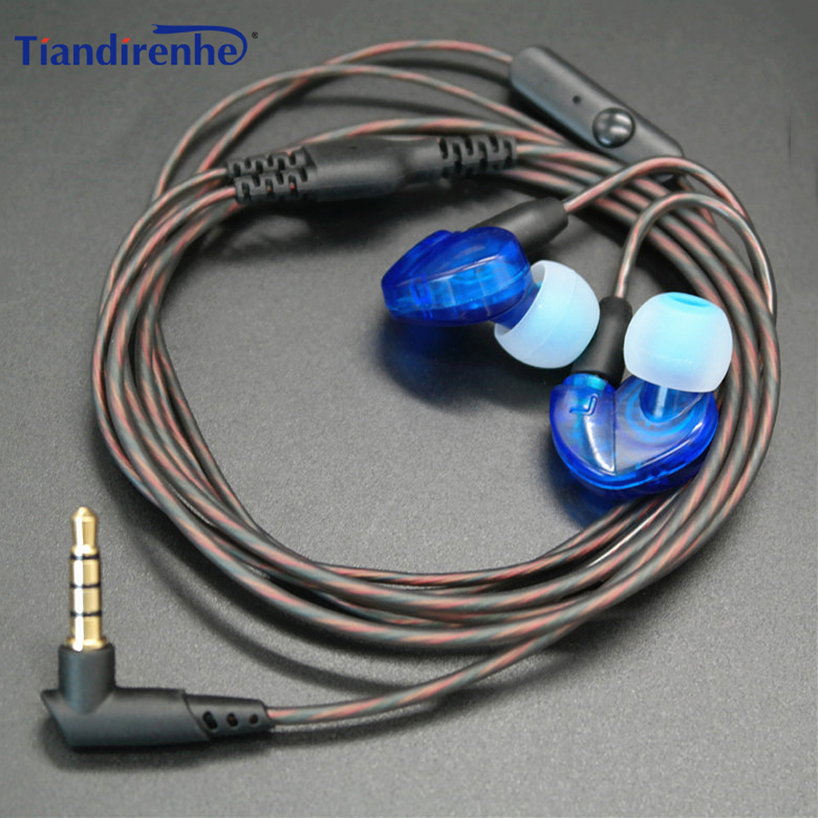 Tiandirenhe DIY SE215 Earphone TPE MMCX Cable for Shure SE535 SE846 UE900 14 Cores Replacement Audio Cord Headset with MIC senfer dt2 plus headphones1dd 2ba hybrid hifi in ear earphone ie80 ie800 ie8i style for shure se215 se535 se846 ue900 mmcx cable