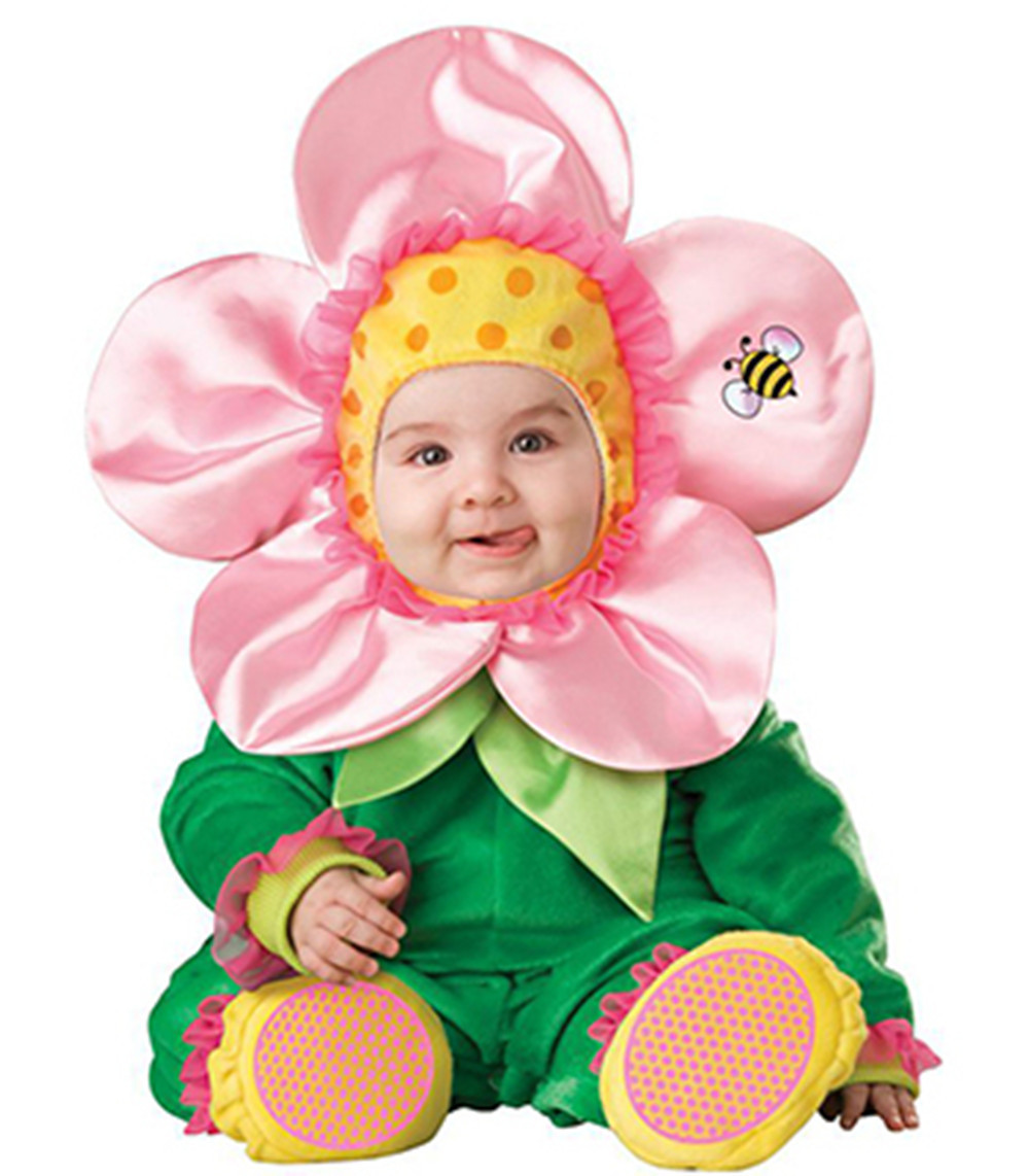 Black Friday Christmas Xmas Halloween Costume Infant Baby Flower Anime Cosplay Newborn Toddlers Clothing