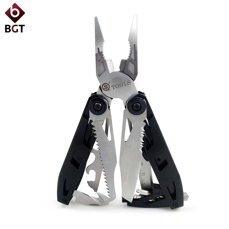 18 In 1 Multi Tools Wire Stripper Pliers Camping Tool Multitool Combination Folding Plier Function With Knife Screwdriver Saw18 In 1 Multi Tools Wire Stripper Pliers Camping Tool Multitool Combination Folding Plier Function With Knife Screwdriver Saw