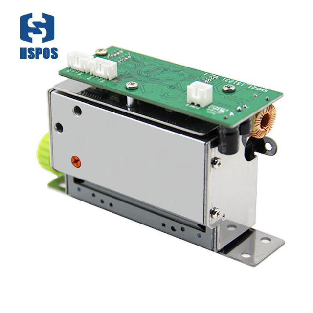 12V voltage print auto cut 2 inch panel thermal printer for kiosk TTL or RS232 port embedded printing machine with cutter