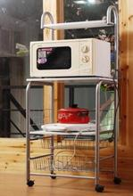 Microwave oven rack shelf. Kitchen receive frame. The multilayer receive frame