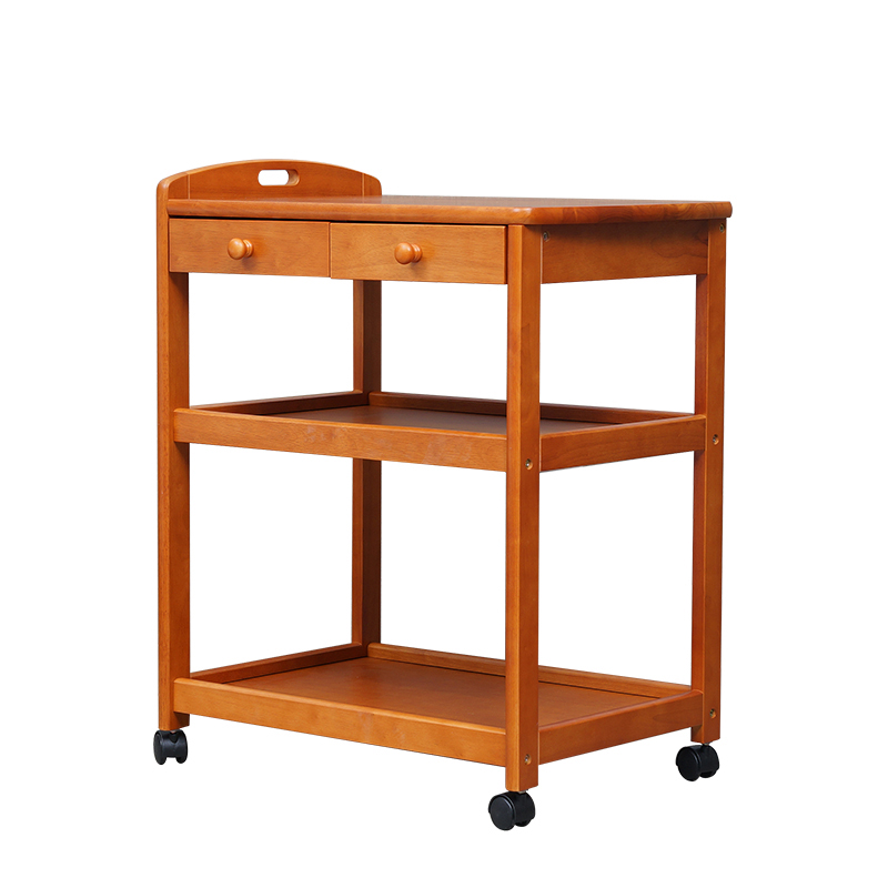 100% wooden diners Dining carts with wheels hotel furniture