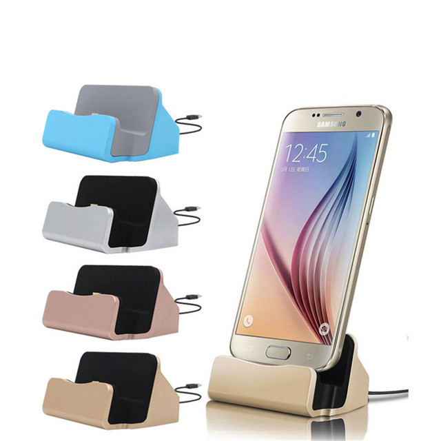Universal Phone Stand Holder Micro USB Charging Dock Station ...