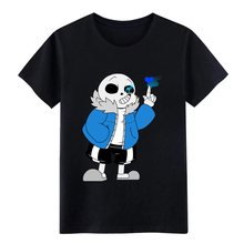 undertale sans  game baseball t shirt Designing Short Sleeve Round Collar cool Graphic Basic Summer Style Unique