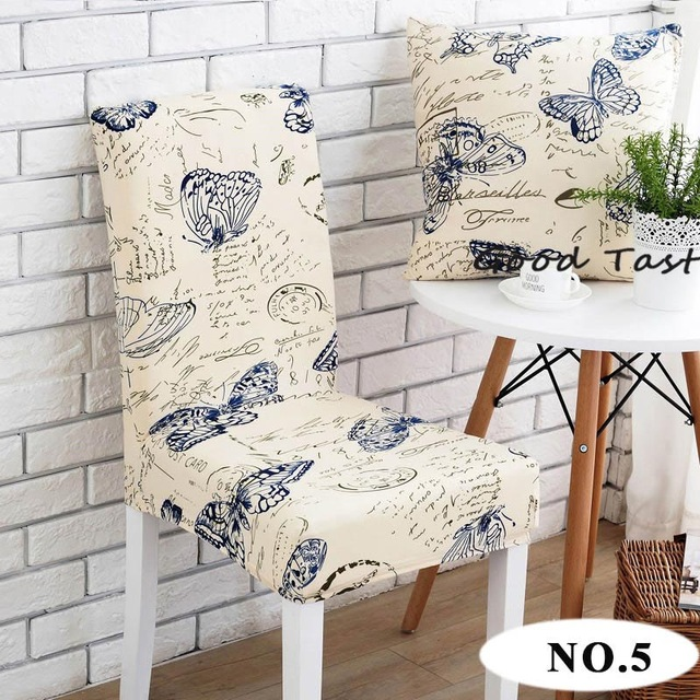 China 2018 Sale 6Pcs Spandex Stretch Dining Chair Cover