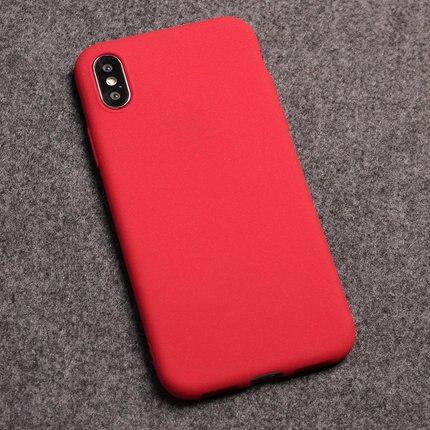 Pocophone F1 Case For Xiaomi Mi A2 Lite Mi 8 Lite Case Matte Soft TPU Cover Xiomi Redmi Note 6 Pro 7 6A Mi8 Poco Phone F 1 Case