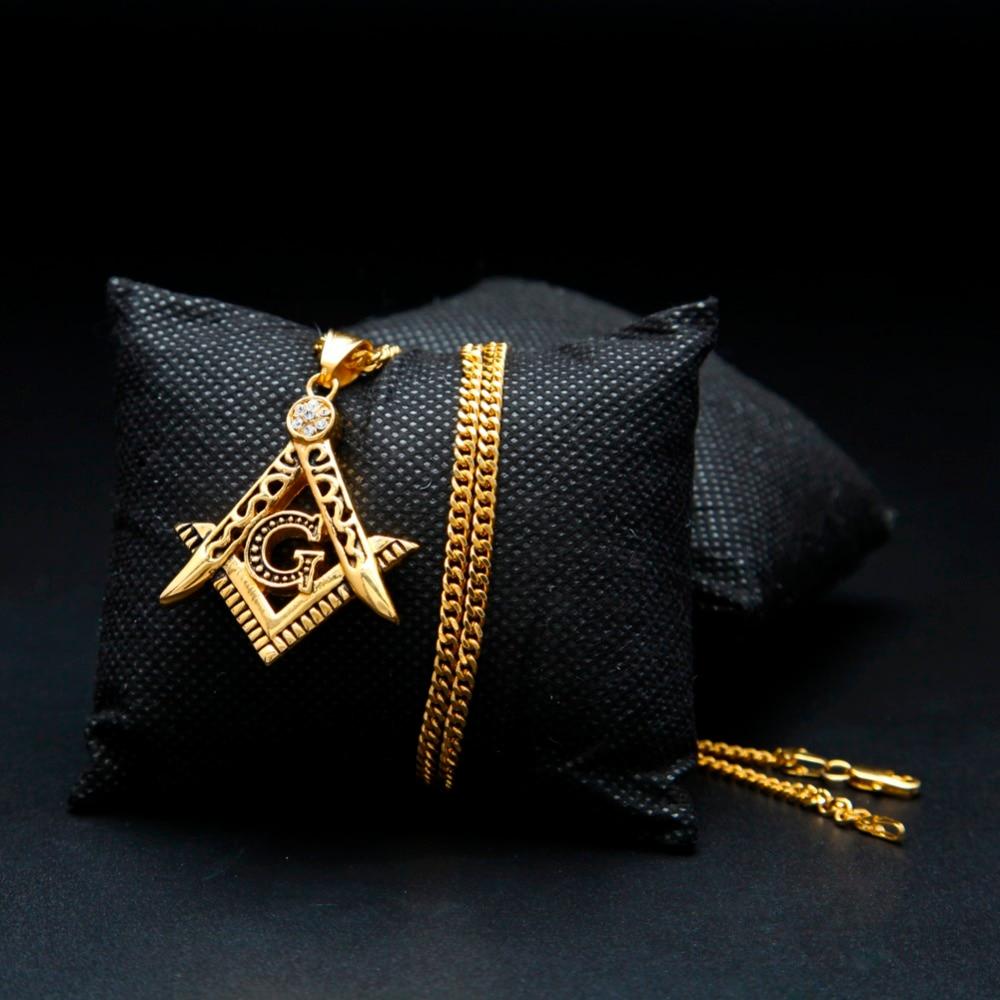 Cor de ouro Hip Hop Congelado Para Fora Pingente G Colar Inicial - Bijuterias - Foto 3