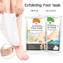 2PCS Exfoliating Foot Mask Socks For Pedicure Socks For Feet Peeling Baby Foot Mask Health Care Skin Care Feet Dead Skin Removal