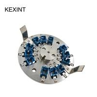 KEXINT Fiber Optic Hand Polishing Dish FTTH Grinding Machines