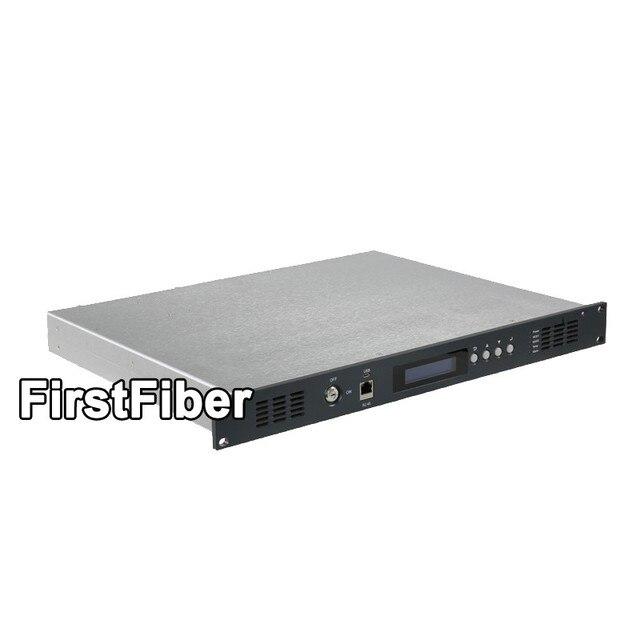 جهاز ناقل بصري CATV 1310nm ، 2mW إلى 30mW للخيار ، تعديل كثافة الضوء المباشر ، مصدر طاقة مزدوج