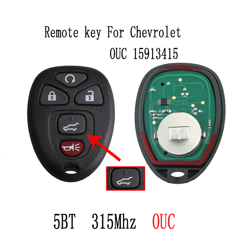 2pcs*5BT Remote key DIY For GMC Acadia Savana Sierra Yukon XL 1500 2007 2008 2009 2010 2011 2012 2013 2014 15913415 Original key2pcs*5BT Remote key DIY For GMC Acadia Savana Sierra Yukon XL 1500 2007 2008 2009 2010 2011 2012 2013 2014 15913415 Original key