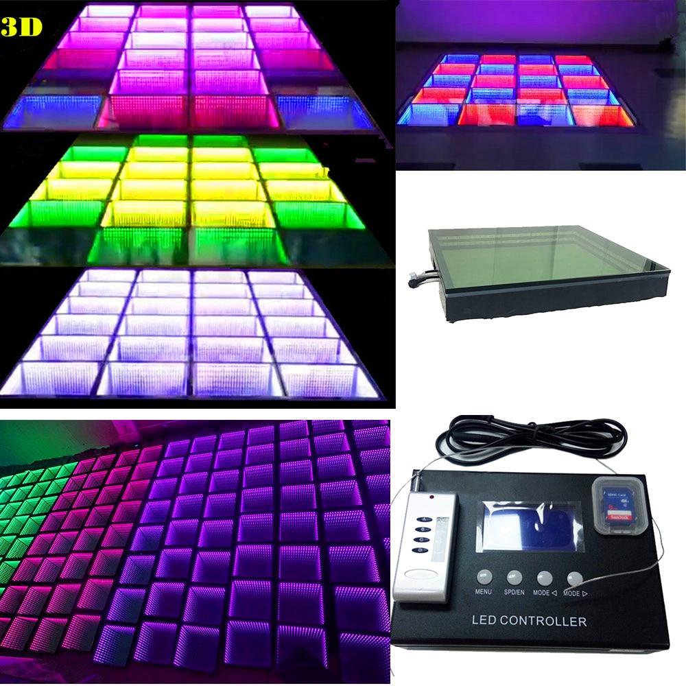 все цены на Led Dancing Brick Led Induction Floor Tile Led Video Flooring Tile Floor Screen Background Wall for Bar KVT Conference Wedding