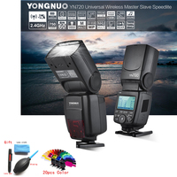 YONGNUO YN720 Flash Speedlite Wireless Flash Master Slave Speedlite GN60 LCD Display W/Battery for Canon Nikon Sony DSLR Camera