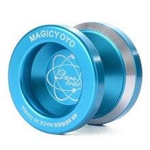 MAGICYOYO N8 Alloy Aluminum Yo Yo Bearing Reel + 5 Strings + Glove magicyoyo n11 aluminum alloy yo yo toy black golden