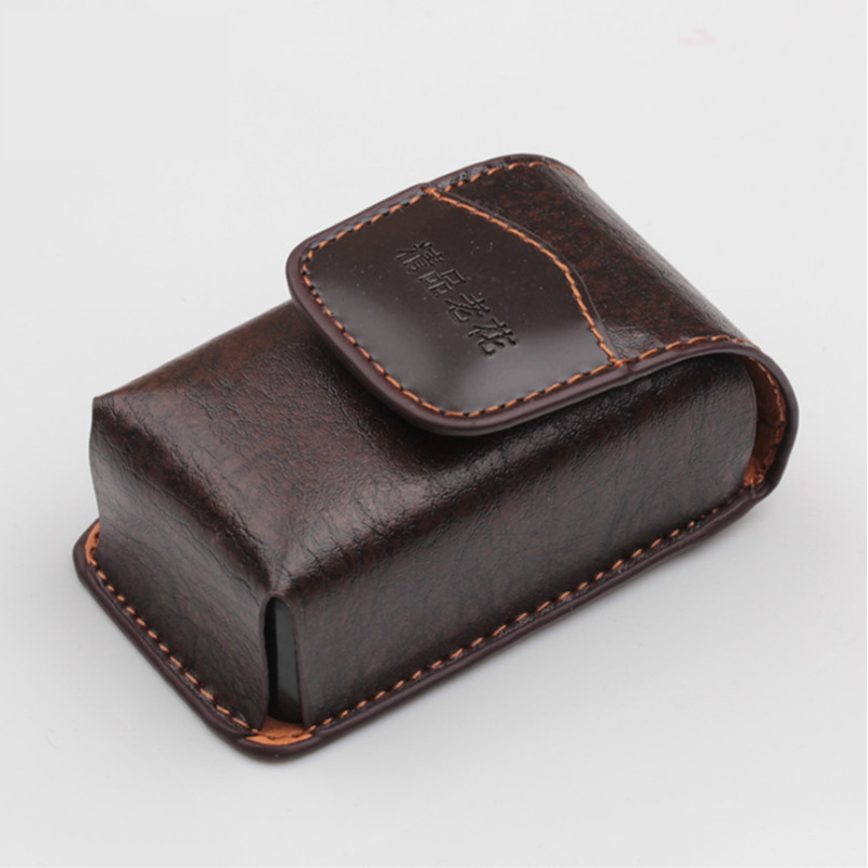 Cross Section Belt Box Retro Folding Reading Glasses Box Men And Women Portable Reading Glasses Box Folding Myopia Box