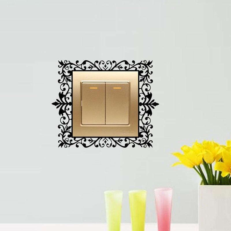 Выключатель света дома стены Книги по искусству наклейка Стикеры переключатель украшения 4ws0150