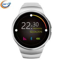 GFT kw18 männer sport smart watch sim android pulsmesser uhr smartwatch android uhr für ios android telefon mtk2520c