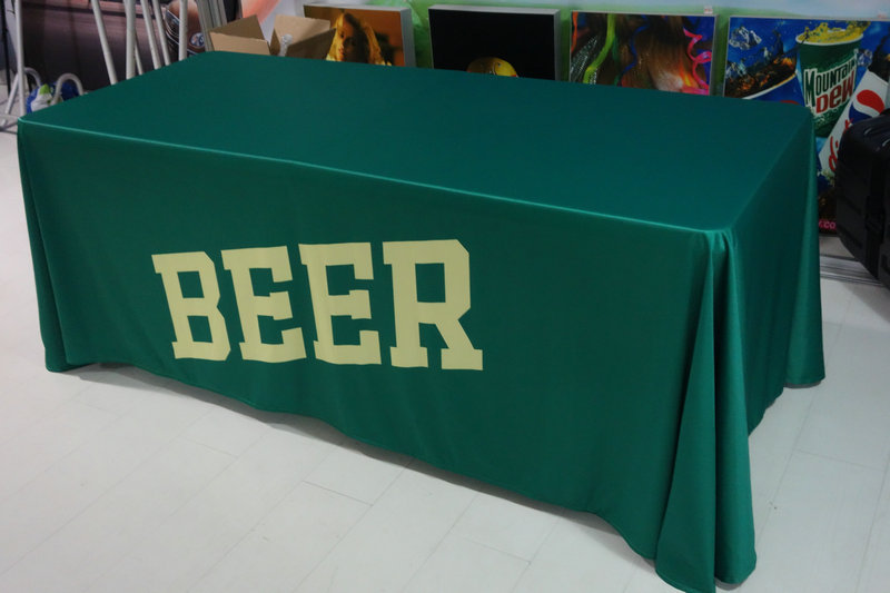AliExpress & US $215.0 |6ft advertising table cover trade show table cloth free shipping-in Flags Banners \u0026 Accessories from Home \u0026 Garden on Aliexpress.com | ...