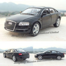1:36 Scale Diecast Alloy Metal Car Model For Audi A6 Collectible Model Collection Pull Back Toys Car(China)