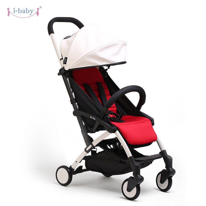 i-baby Luxury DoDo Baby Stroller High Landscape Portable Lightweight Foldable Baby Pram Pushchairs Kinderwagen