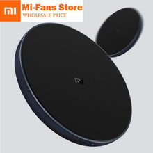 New Original Xiaomi WPC01ZM 10W MAX Quick Charge Qi Wireless Charger Type C for iPhone for Samsung For huawei in stock