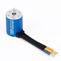 1set 3650 4Poles 5200KV Brushless Motor For 1 10 RC Car Boat Parts Retail Box