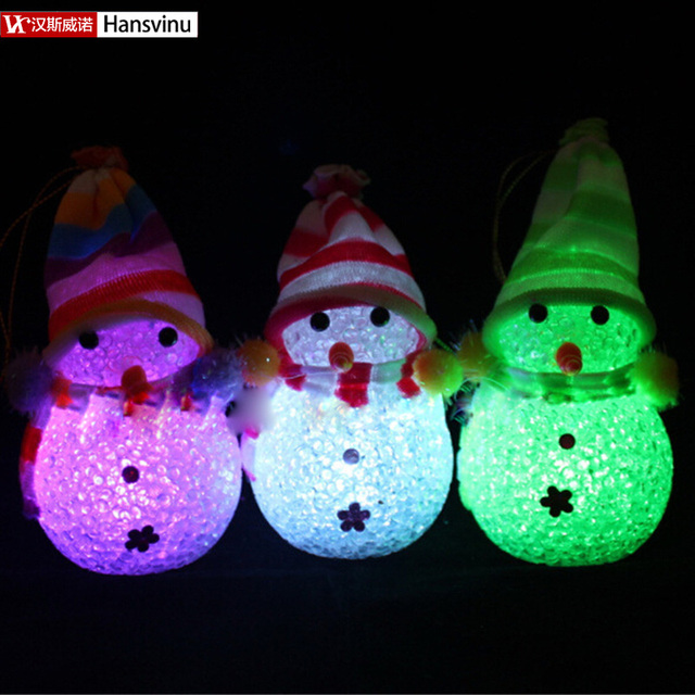 Christmas Snowman Led Colorful Night Light Wholesale Supply Led Night Lights,  Christmas Lights Decorations For