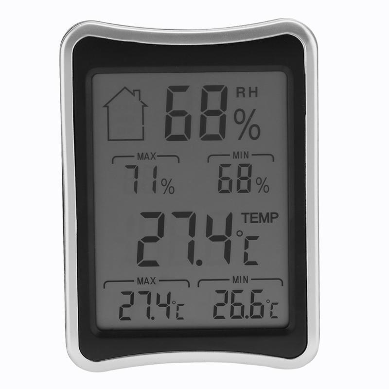 LCD Digital Thermometer Indoor Outdoor Hygrometer Wireless Weather Station for indoor/outdoor temperature wireless weather station indoor hygrometer indoor