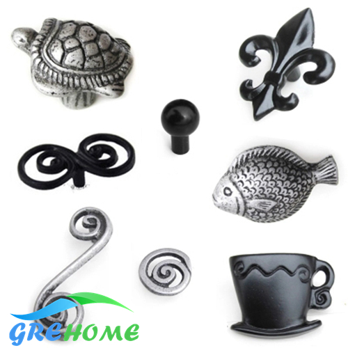 antique cabinet door handle knobs wardrobe kitchen drawer handle black aluminum single hole cupboard handles for interior doors l door handle furniture handles black drawer kitchen cabinet door handle grips hole pitch handle pulls