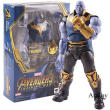 SHF S.H.Figuarts Avengers Infinity War Thanos Figure PVC Action Figures Marvel Collectible Model Toy