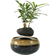 magnetic levitation potted plant floating air bonsai tree pot