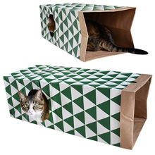 With noble pet toy cat supplies amazon paper house channel tunnel