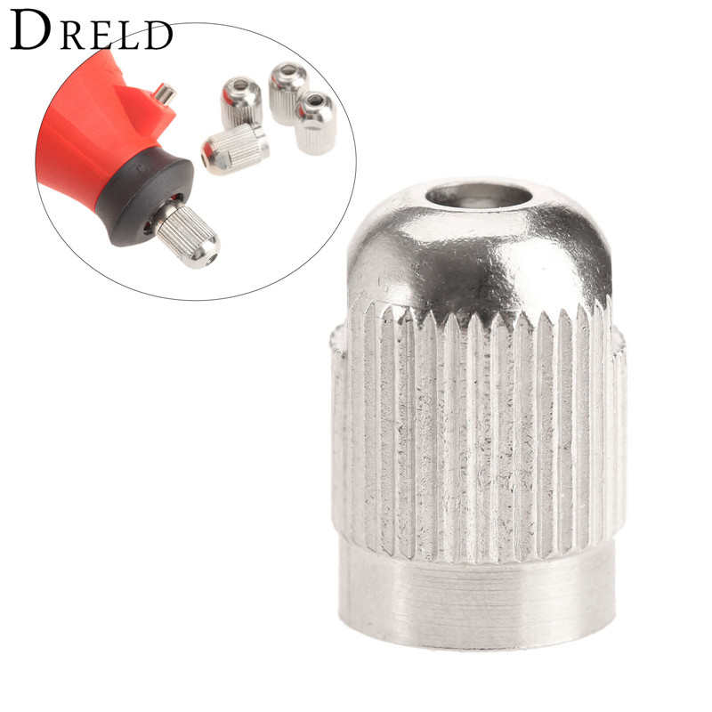 1Pc Zinc Alloy M8x0.75 Flexible Shaft Screw Cap Collet for Electric Mill Grinder Shaft Dremel Rotary Tool Power Tool Accessories mirco air grinder mag 122n 35 000rpm collet size 20mm 0 6mpa 140g