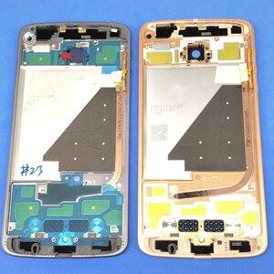 Image 2 - Задняя крышка аккумуляторного отсека, совершенно новый корпус средней крышки и задняя крышка, замена для Motorola Moto Z XT1650  01  03  05