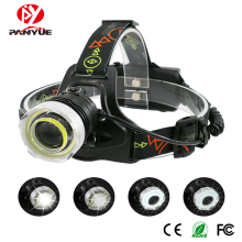 PANYUE Bright light Head lamp 4 Mode USB Rechargeable Head Flashlight Torch 1000LM COB and XM-L2 LED Camping Headlight Headlamp boruit 1000lm xml l2 led headlamp flashlight zoomable headlight portable lantern camping hunting head torch light