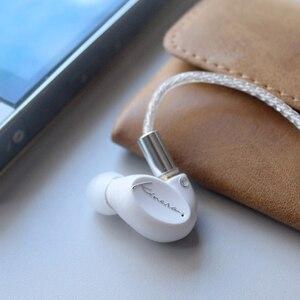 Image 2 - KINERA SIF وحدة السائق ديناميكية واحدة في الأذن سماعة DJ HIFI رصد سماعة مع MMCX انفصال منفصلة كابل سماعة أذن صغيرة رياضية