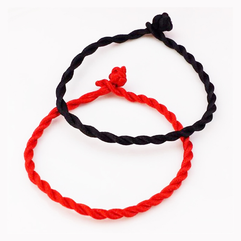 10Pcs/Lot Handmade Lucky Red String Rope Bracelet For Women Men Couple Thread Bracelets & Bangles Fashion Jewelry Gift