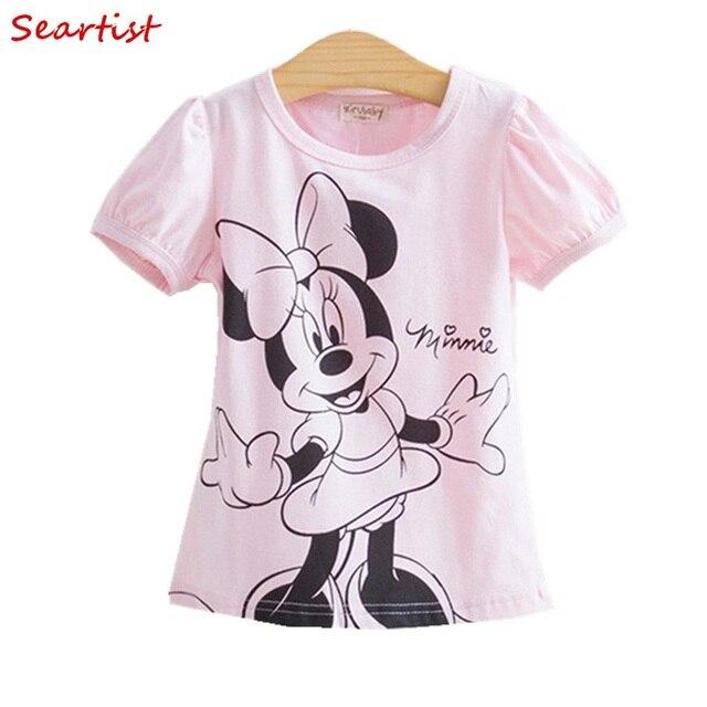 Seartist Baby Girls Tshirt Girl Summer Short-Sleeved Casual T-shirts For Kids Children's Cotton Tops Girl's Summer Tee 2018 10