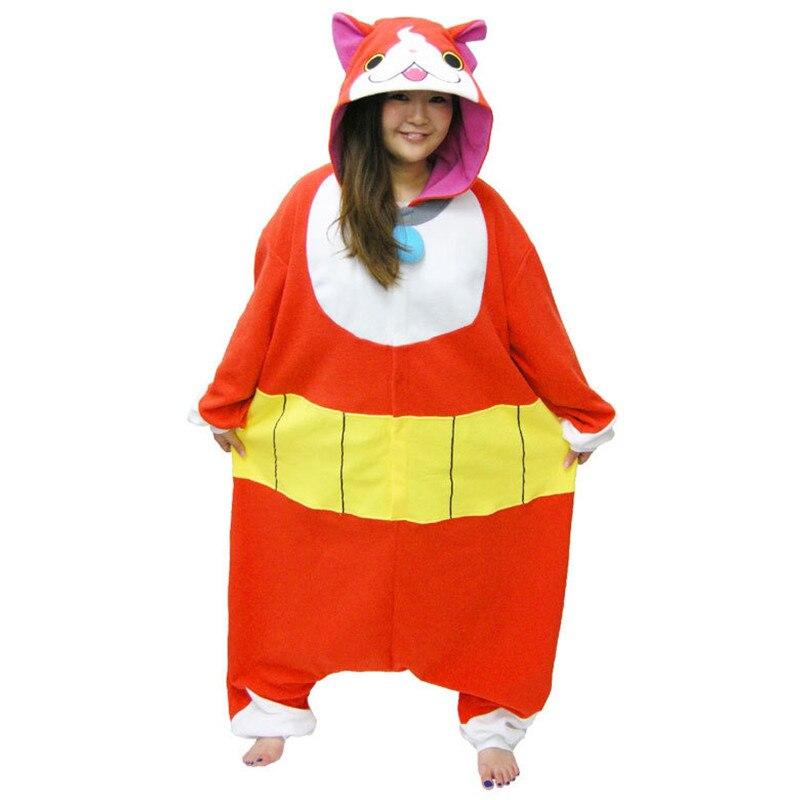 Autentica Yokai Vigilanza Cat Halloween Costume Tutina Giappone per adulti Cosplay Formato Libero Pigiama Per Il Regalo Di Natale
