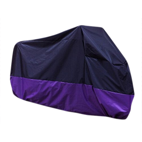Edfy violet noir housse bache protection couverture de for Housse de velo intersport