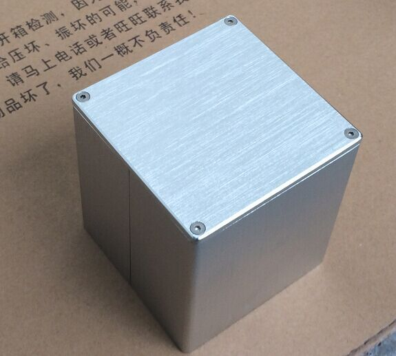 WEILIANG AUDIO Square Aluminum Transformer Cover For Output Transformer 90*90*100mm