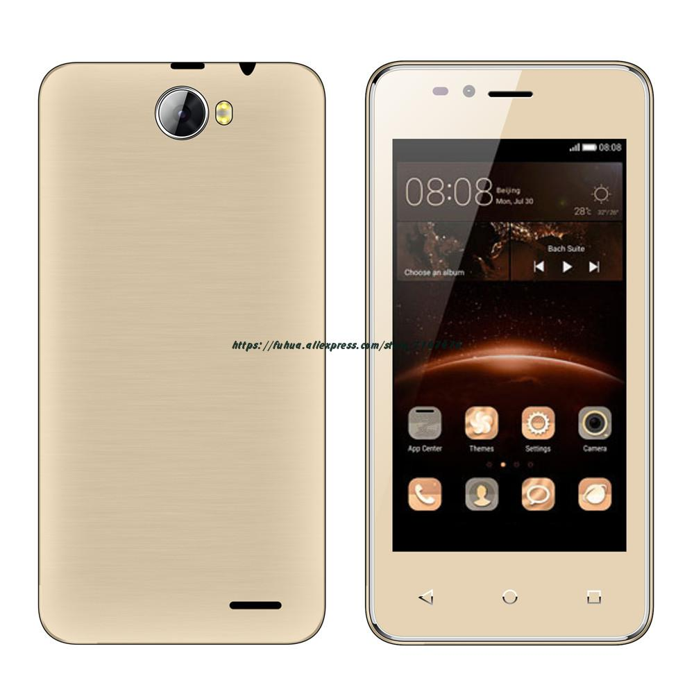 Цена за Оригинал servo h5 android 6.0 spreadtrum7731c quad core 1.2 ГГц смартфон 5.0mp wcdma 4.5 ''mobile сотовый телефон multi язык