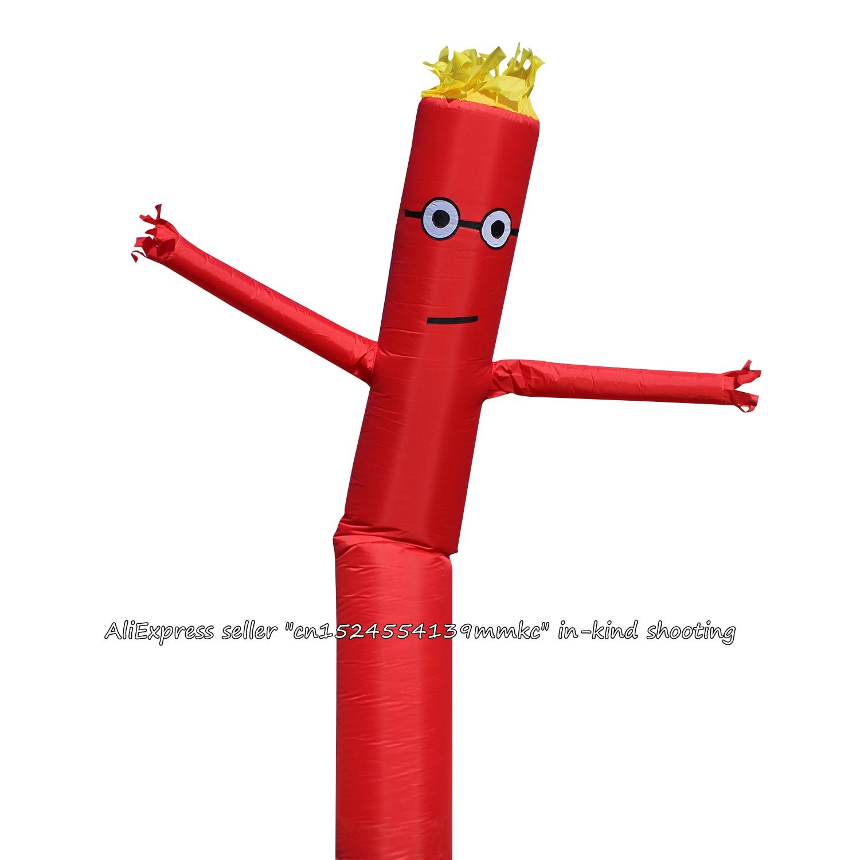 inflavel tubo fantoche vento voando para 45 cm blowe vermelho 05