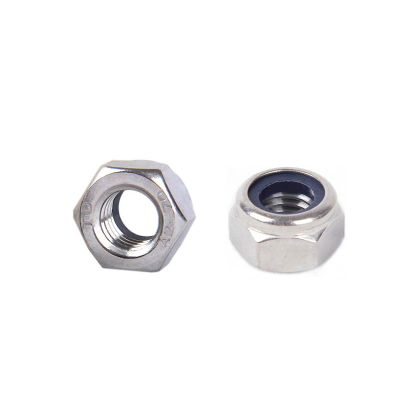 10Pcs 304 stainless steel locking nut, anti-loosening nut, nylon, anti-skid M2M2.5M3M4M5M6M810Pcs 304 stainless steel locking nut, anti-loosening nut, nylon, anti-skid M2M2.5M3M4M5M6M8