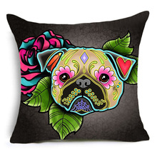 Funny Colorful Dog Pillowcases