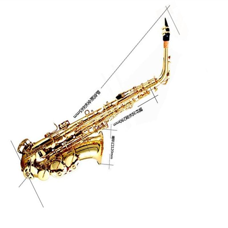 Sino-US Brand Eternity care Eb FallingTune E Alto Sax Brass Wind Instrument Saxophone Professional Gold Saxe Musical Instruments цена и фото